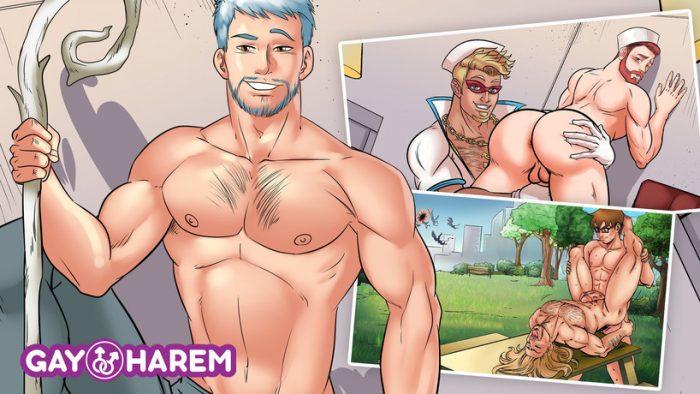 Catch yaoi boys and build your harem
